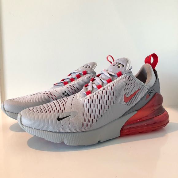 Nike Other - Nike Air Max 270 Wolf Grey Red AH8050-018